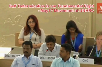 May17 Movement UNHRC